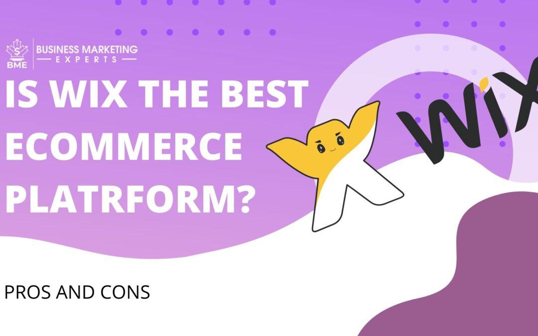 E-commerce Platform Wix